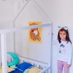 Deciji krevet u obliku kucice