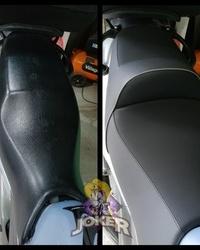 Tapaciranje sedista za motor