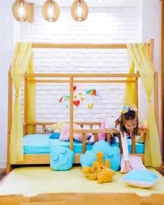 Drveni krevetic za decu