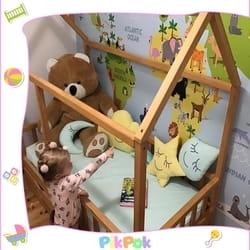 Drveni krevetic kucica za decu