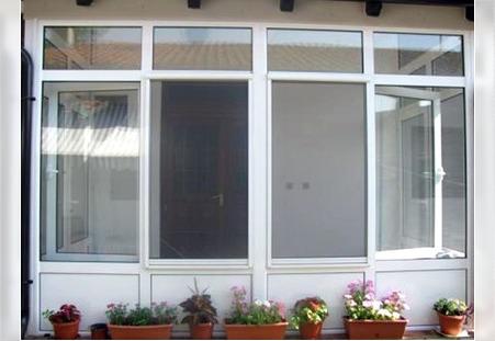 Zatvaranje terase - PVC stolarija Simontal