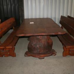 Drvene bastenske klupe i stolovi