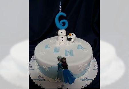 Dečija torta Elza i Ana