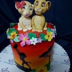 Lion King dečija torta