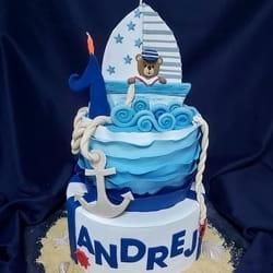 Mornar Dečija torta za dečake