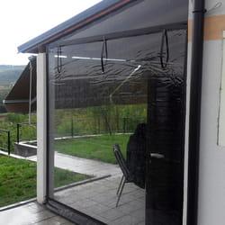 Providna pvc folija za zatvaranje basti i terasa