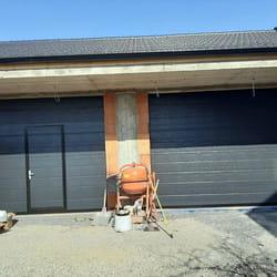 Garazna vrata antracit boja