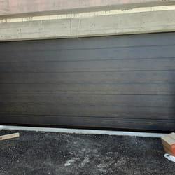 Garazna vrata imitacija drveta