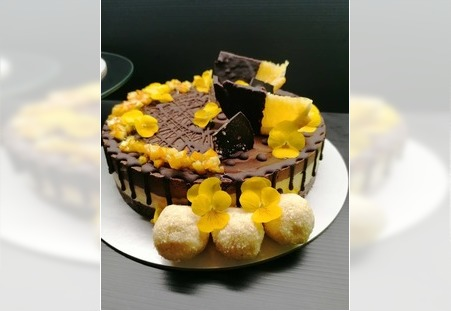 Čoko malina i čoko oranž posne torte