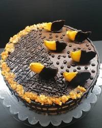 Čoko oranž torta bez glutena