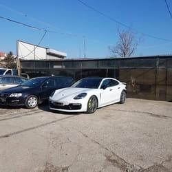 Servis i farbanje branika Porsche