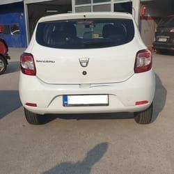 Popravka branika Dacia Sandero