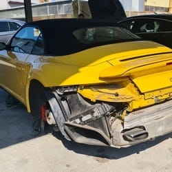 Popravka branika Porsche 911 turbo