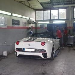 Popravka branika Ferrari