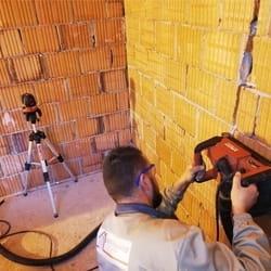 Slicovanje zida za postavku vodovodnih instalacija