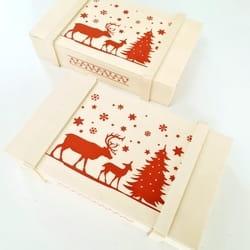 Drvena kutija Manibo Team
