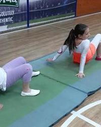 Ritmička gimnastika u službi lepote devojčica - 6 deo