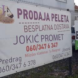 Jokic Promet dostava peleta