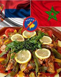 Nacionalna jela zemalja koje nisu priznale Kosovo u Korcaginu