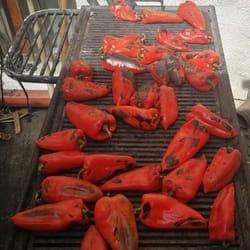 Domace pecene paprike u Korcaginu