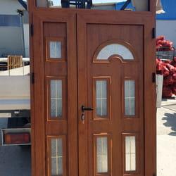 Aluminijumska vrata u boji drveta