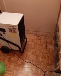 Isusivanje vlage u kuci nakon poplava Novi Sad