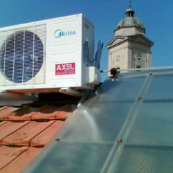 Montaza klima uredjaja na krovu