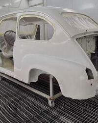 Farbanje Fiata 500