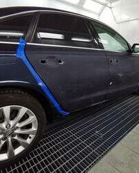 Audi farbanje
