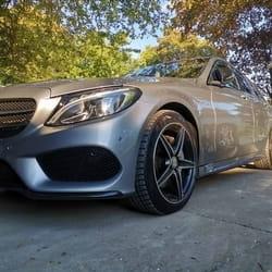 Lepljenje branika Mercedes