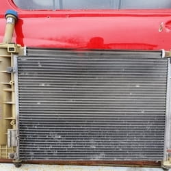 Polovan hladnjak klime za Fiat 500
