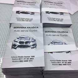 Knjizice za auto servise