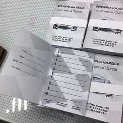 Stampa knjizica za auto servise