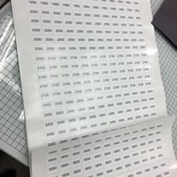 Stampa raznih nalepnica