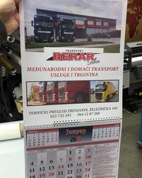 Izrada foto kalendara Mirijevo