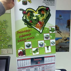 Izrada kalendara MIrijevo