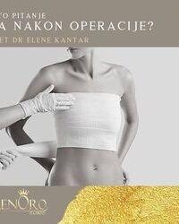 Sta nakon operacije grudi?