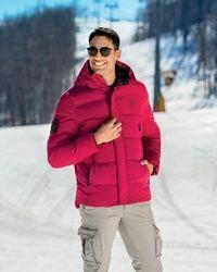Owen - Dark Red muska jakna