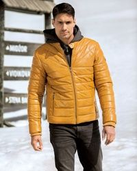 Teodor - Yellow muska jakna