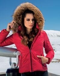 Invetno Fashion crvena zenska jakna