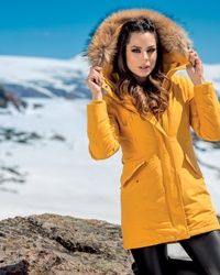 Zenska zimska jakna Dora - Yellow