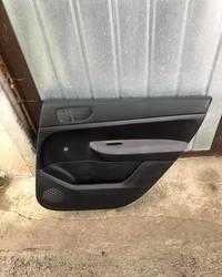 Zadnji tapacir vrata ( tapaciri ) za Pezo Peugeot 307