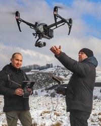 Dron Cajetina