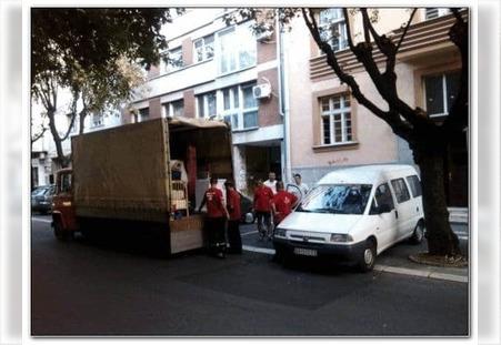Prevoz kombijem u gradu