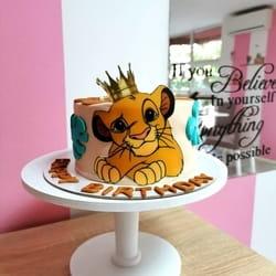 Lion king torta