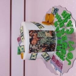 Plazma torta obložena fondanom