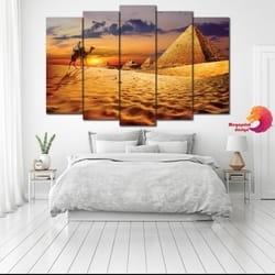 Slika na platnu iz delova Egipat