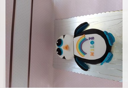 Torta u obliku pingvina