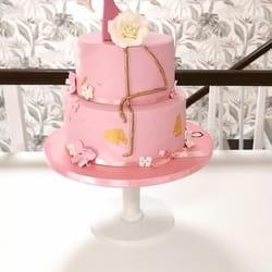 Flamingo torta