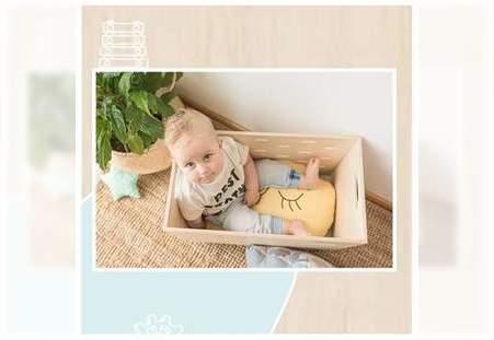 Drvena kutija za igračke